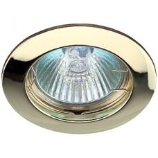 Светильник ЭРА литой золото