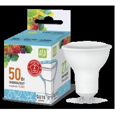 Лампа светодиодная ASD GU10  5.5W холодная