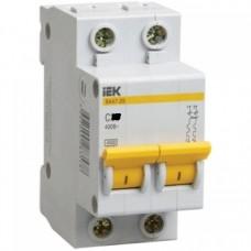 Автоматический выключатель IEK ВА47-29 2P  6А