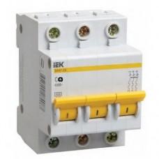 Автоматический выключатель IEK ВА47-29 3P  6А