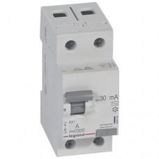 УЗО LEGRAND RX3 2P 25А 30mA тип (AC)
