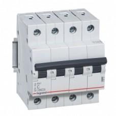 Автоматический выключатель LEGRAND RX3 4P C6