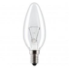 Лампа (ЛОН) счеча Е14 прозрачная 25W