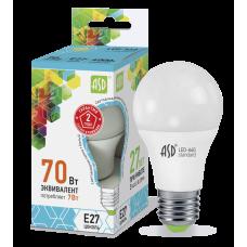 Лампа светодиодная ASD A60 E-27 7W холодная