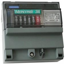 Электросчетчик МЕРКУРИЙ 201.5 однофазный, однотарифный