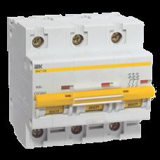 Автоматический выключатель IEK ВА47-100 3P  80А
