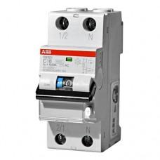 Диф.автомат ABB DS201 6А 30mA тип (AC)