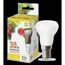 Лампа светодиодная ASD R39 E-14  3W теплая