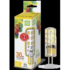 Лампа светодиодная ASD G-4 12V 5W теплая