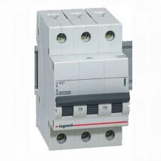 Автоматический выключатель LEGRAND RX3 3P C6