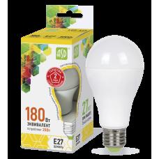Лампа светодиодная ASD A65 E-27 20W теплая