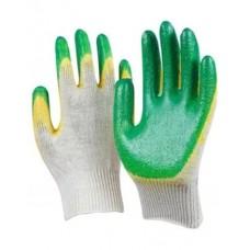 Перчатки ХБ с заливкой
